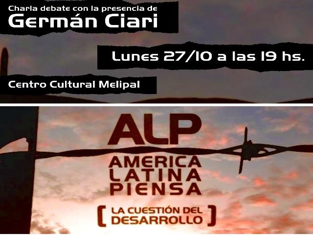 Se hará en Esquel el cierre del Ciclo de documentales «América Latina Piensa (La cuestión del desarrollo)»