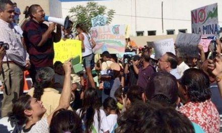 Se manifiestan nuevamente contra proyecto minero en BCS