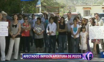 Afectados por derrame minero en Río Sonora desconfían de los pozos de abastecimiento de agua