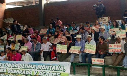 Cajamarca hará una consulta popular sobre minería