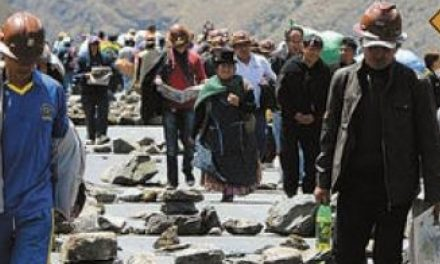 La conflictividad minera en Bolivia (2010-2014)