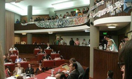 Otra jornada de lucha y defensa de la vida en la Legislatura