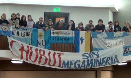Comunicado de prensa de Unión de Asambleas Ciudadanas del Chubut