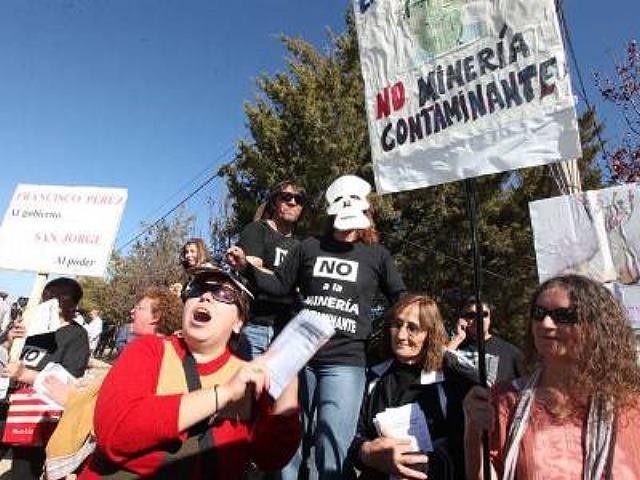 Gobierno mendocino declara emergencia hídríca pero impulsa proyecto mineros