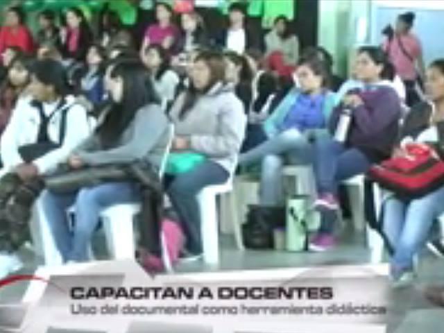 Jornada docente sobre video documental analizó video sobre la Iniciativa Popular