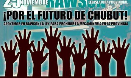 Vecinos de Esquel se organizan para ir a la Legislatura