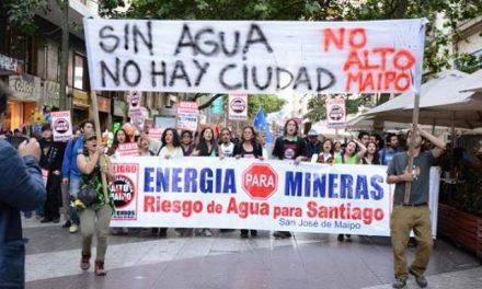 Las mineras privadas saquean: Alto Maipo producirá energía para una de ellas