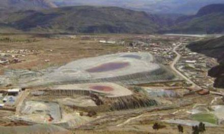 Gobernación responsabiliza a Comibol por vertido tóxico minero