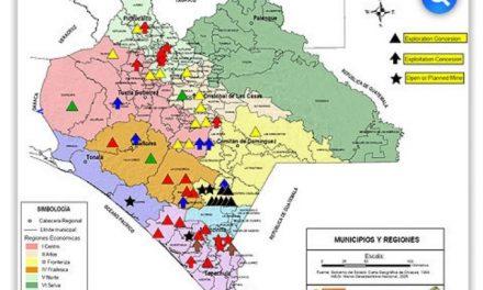 Minería tensa a pobladores de Oaxaca y Chiapas