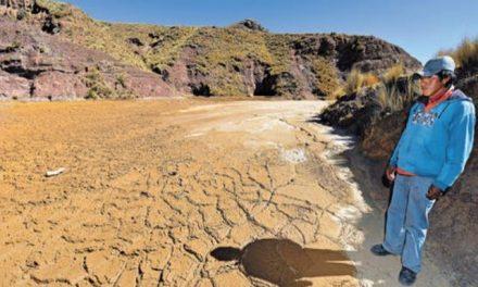 La actividad minera produce una geografía de escasez de agua