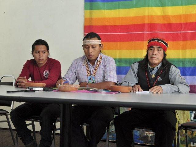 Indígenas shuar piden la suspensión de la extracción minera