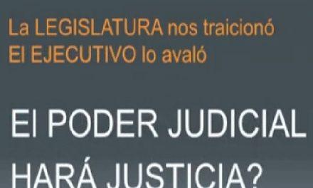 Este martes los vecinos se concetran en tribunales de Esquel por el fraude minero