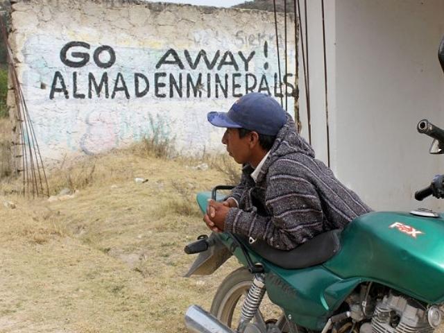Acusan invasión de minera Almaden en Ixtacamaxtitlán
