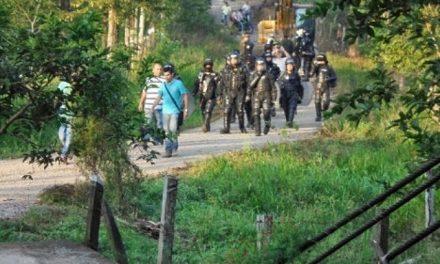 Violencia policial para imponer minería en Landázuri