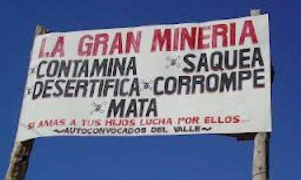 Minería, entre la corrupción y el despojo