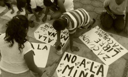 En Zacualpan,territorio libre de minería, continúan resistiendo a la imposición de proyectos extractivistas
