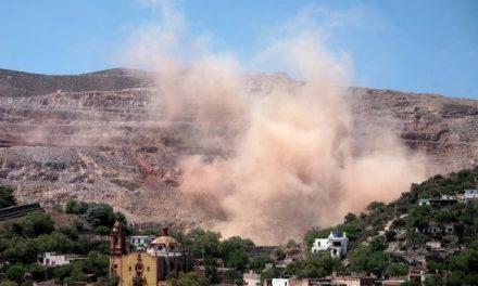 Minera San Xavier provocó una «lluvia de piedras» sobre el pueblo de Cerro de San Pedro