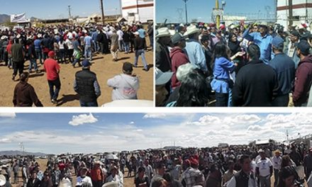 Pobladores cortan el suministro de agua a mina de Grupo México que causó derrame