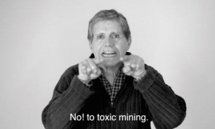 Actores mexicanos filman video contra la minería tóxica en Baja California Sur