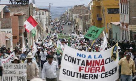 Ante la resistencia popular, se suspendió el proyecto minero Tía María