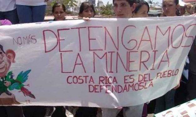 La Justicia ordena al presidente de Costa Rica a declarar al país libre de minería a cielo abierto