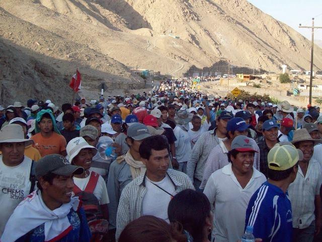 ¿Es 'terrorismo' protestar contra proyectos mineros? Así lo creen algunos empresarios