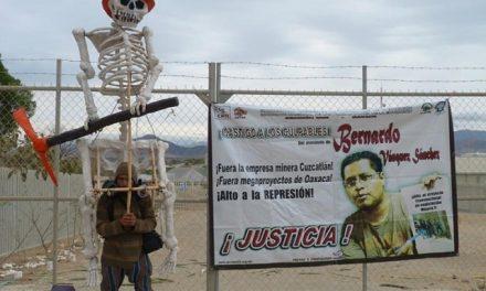 Recuerdan con protesta a Bernardo Vásquez, opositor de proyecto minero asesinado en Oaxaca