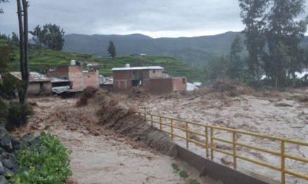 Minera provocó aluviones en Lucanas tras torrencial lluvia