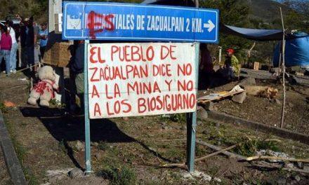 """Zacualpan, """"foco rojo"""" por minería y agua"""