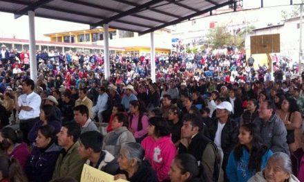 Más de dos mil personas rechazan la minera Atexcaco 2, en Teziutlán