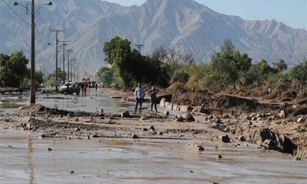 Confirman colapso de tranque de relaves minero en Copiapó