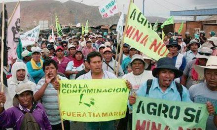 Un muerto y 11 heridos en protestas contra proyecto minero Tía María