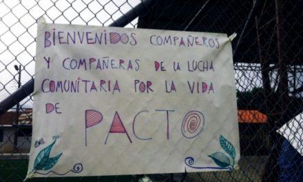Consulta comunitaria en Pacto: 92,6% dice no a la minería