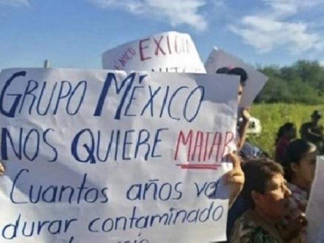 Desalojan de la carretera a manifestantes que demandaban pago de daños por contaminación minera