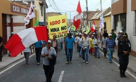 «Queremos que se cancele Tía María»