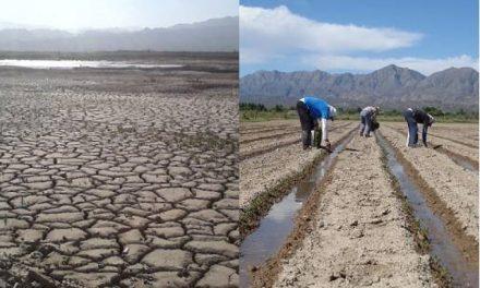 """Agricultores de Jáchal e Iglesia: """"Si no hay agua para el agro, tampoco para la minería"""""""