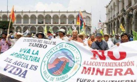 Huelga contra proyecto minero tiende a extenderse en Perú