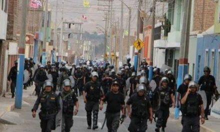 Ocuapción policial y un herido tras nuevos choques en la protesta contra el proyecto Tía María