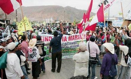 Prosiguen las protestas después que Humala descartara suspensión de Tía María