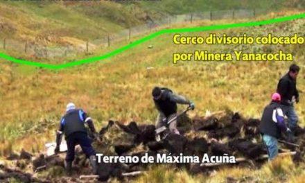 Nuevamente, policía y trabajadores de Minera Yanacocha ingresaron a terreno de Maxima Acuña y destruyeron pequeña construcción
