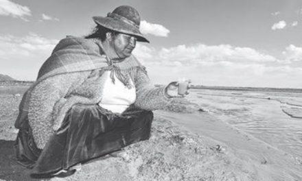 Actividad minera amanaza al lago Poopó