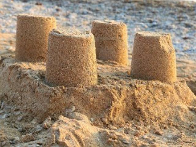 Castillo de arenas silíceas para el fracking