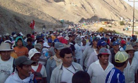Aumentarán presencia policial en la protesta contra el proyecto minero Tía María
