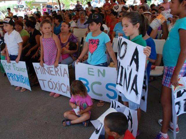 Minería en Reserva de BCS: «Oro para pocos, cáncer para todos»