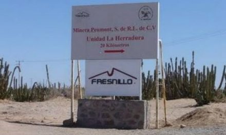 Minera Fresnillo derramó mas de 70 metros cúbicos de solución de cianuro