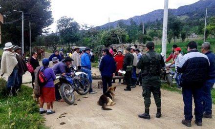Protestas en Tasco por reactivación minera en Páramo de Pisba