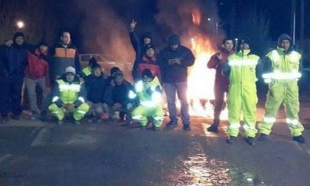 Huelga en el yacimiento minero San José por 40 obreros despedidos