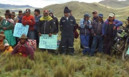 Se avecinan protestas contra la contaminación minera en Puno