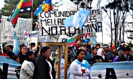 En Loncopue festejaron los tres años del referéndum que le dijo no a la mina