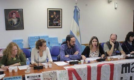 Masiva audiencia en el Congreso Nacional en defensa de los bosques nativos de Chubut